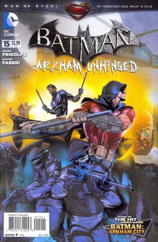 Batman: Arkham Unhinged 015 (print edition)