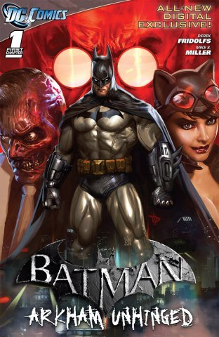 Batman: Arkham Unhinged 001 (chapter 1-3) (2011)