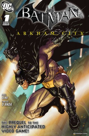 Batman: Arkham City 001a (July 2011)