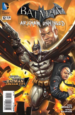 Batman: Arkham Unhinged 012 (print edition)