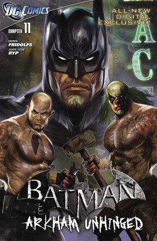 Batman: Arkham Unhinged 005 (chapter 11-13) (2011)