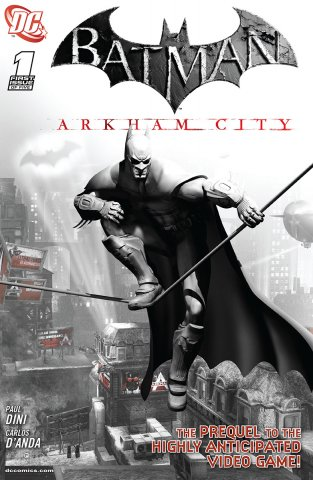 Batman: Arkham City 001b (July 2011)