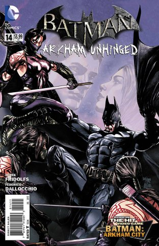 Batman: Arkham Unhinged 014 (print edition)