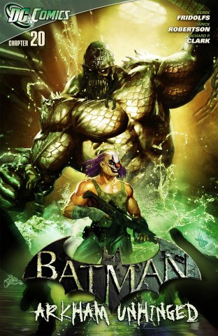 Batman: Arkham Unhinged 008 (chapter 20-22) (2012)