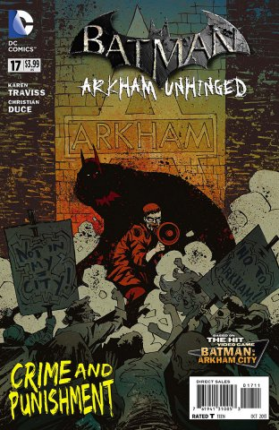Batman: Arkham Unhinged 017 (print edition)
