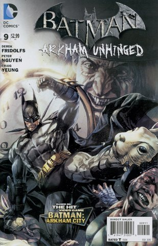 Batman: Arkham Unhinged 009 (print version)
