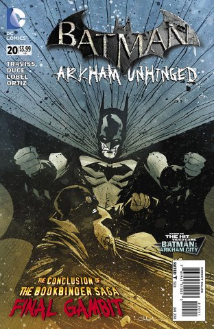 Batman: Arkham Unhinged 020 (print edition)
