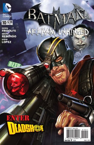 Batman: Arkham Unhinged 010 (print edition)