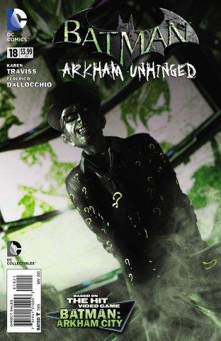 Batman: Arkham Unhinged 018 (print variant)