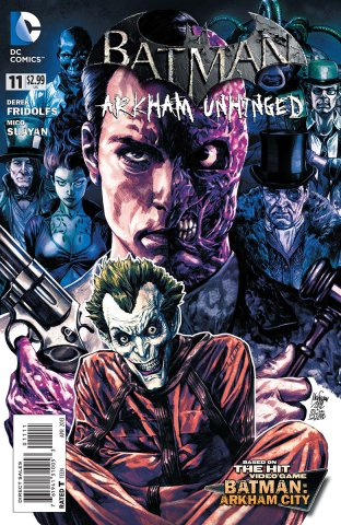 Batman: Arkham Unhinged 011 (print edition)
