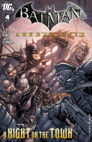 Batman: Arkham City 004 (August 2011)