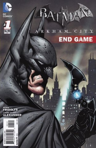 Batman: Arkham City Endgame (cover A) (January 2013)