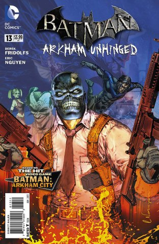 Batman: Arkham Unhinged 013 (print edition)