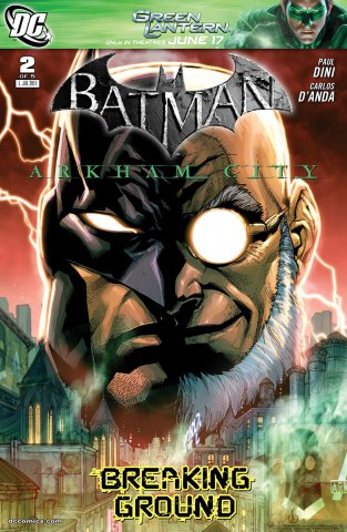 Batman: Arkham City 002 (July 2011)