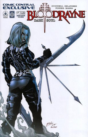 BloodRayne: Dark Soul (Comic Central variant) (October 2005)