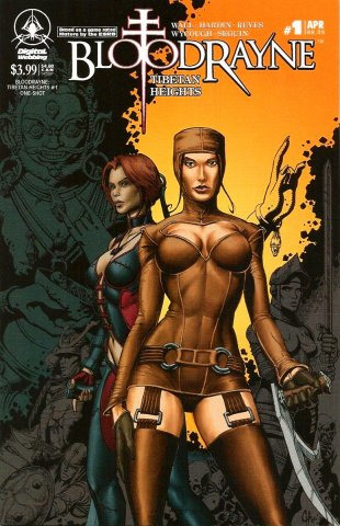 BloodRayne: Tibetan Heights (cover b) (April 2007)