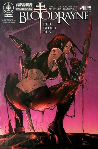 BloodRayne: Red Blood Run 01 (limited edition) (June 2007)