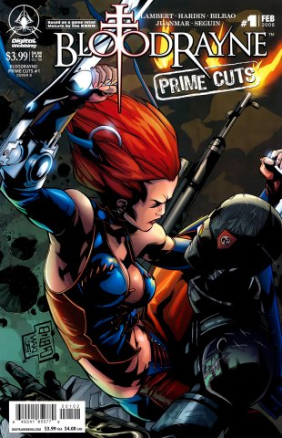 BloodRayne: Prime Cuts 01 (cover b) (February 2008)