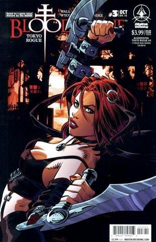 BloodRayne: Tokyo Rogue 03 (cover b) (October 2008)