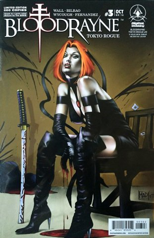 BloodRayne: Tokyo Rogue 03 (incentive cover) (October 2008)