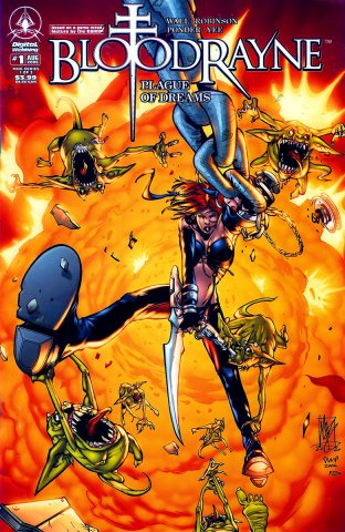 BloodRayne: Plague Of Dreams 01 (cover a) (August 2006)