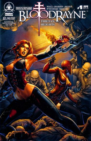 BloodRayne: Tibetan Heights (cover a) (April 2007)
