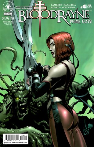 BloodRayne: Prime Cuts 04 (cover B) (July 2009)