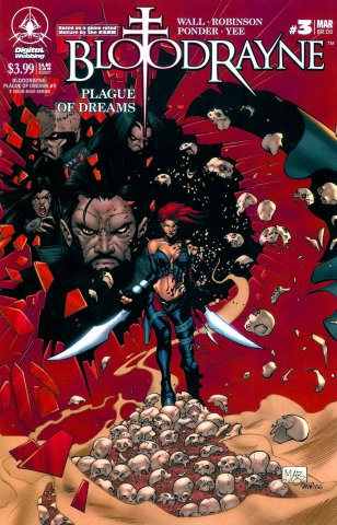 BloodRayne: Plague Of Dreams 03 (variant) (March 2007)