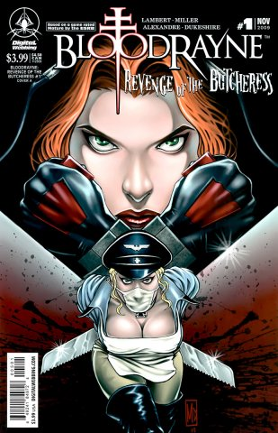 BloodRayne: Revenge of the Butcheress (cover A) (November 2009)