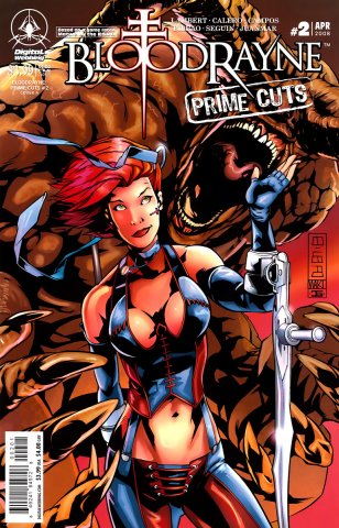 BloodRayne: Prime Cuts 02 (cover A) (April 2008)