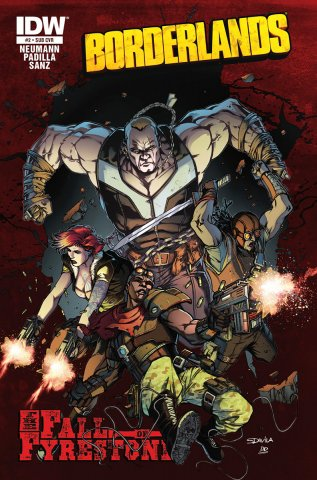 Borderlands 02 (August 2014) (subscriber's cover)
