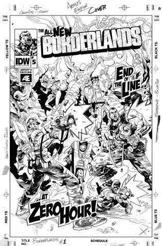 Borderlands 05 (November 2014) (retailer incentive cover)