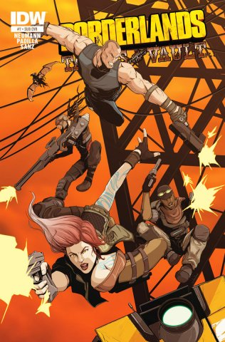 Borderlands 07 (January 2015) (subscriber's cover)