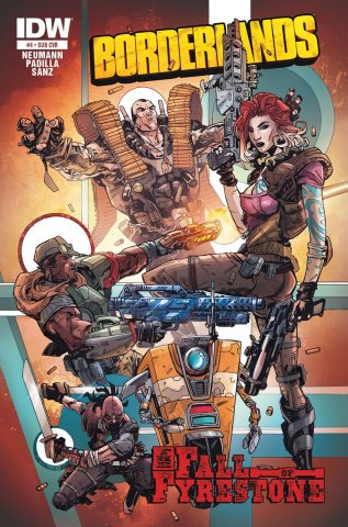 Borderlands 04 (October 2014) (subscriber's cover)