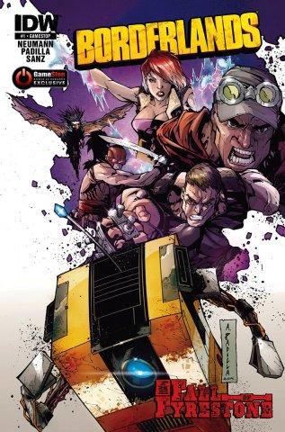 Borderlands 01 (July 2014) (GameStop cover)