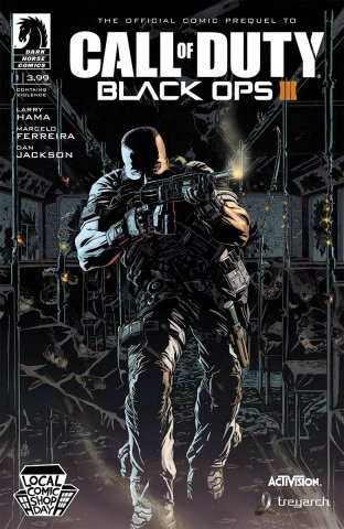 Call Of Duty - Black Ops III 001 (local comic shop variant) (November 2015)