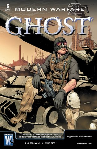 Modern Warfare 2: Ghost 06 (September 2010)