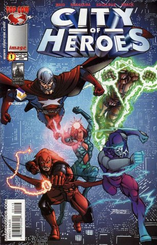 City of Heroes v2 01 (Perez variant) (June 2005)