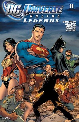 DC Universe Online Legends 011 (September 2011)