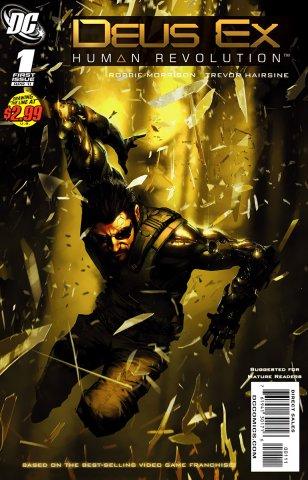 Deus Ex: Human Revolution 001 (April 2011)