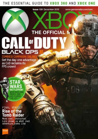 XBOX The Official Magazine Issue 131 December 2015