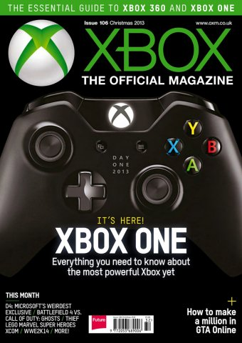 XBOX The Official Magazine Issue 106 Xmas 2013