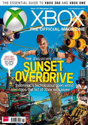 XBOX The Official Magazine Issue 117 November 2014