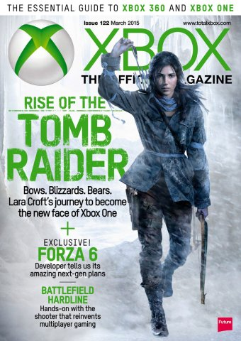 XBOX The Official Magazine Issue 122 March 2015