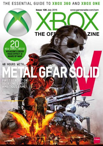 XBOX The Official Magazine Issue 126 July 2015