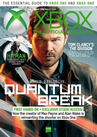 XBOX The Official Magazine Issue 135 March 2016