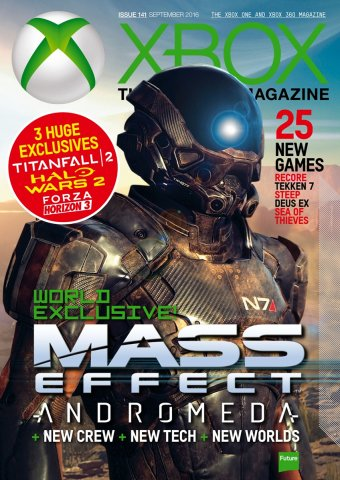 XBOX The Official Magazine Issue 141 September 2016