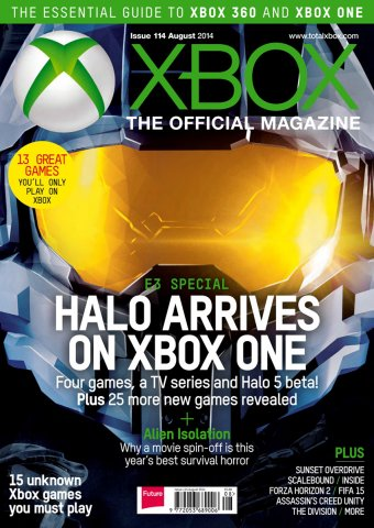 XBOX The Official Magazine Issue 114 August 2014