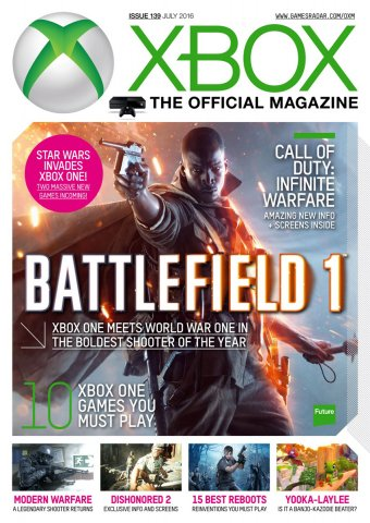 XBOX The Official Magazine Issue 139 July 2016