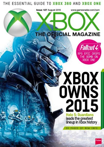 XBOX The Official Magazine Issue 127 August 2015